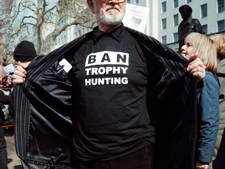 GMFER London March Against Extinction & Trophy Hunting