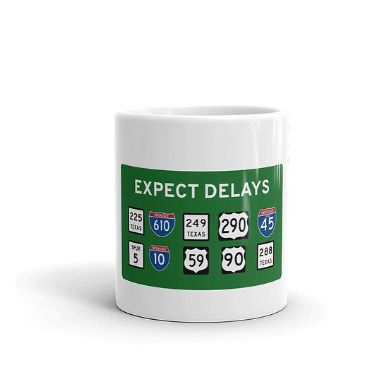 Houston Traffic Delays Mug