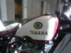 YAMAHA SR400 BOBBER CHOPPER ボバー チョッパー YA-1 赤とんぼ