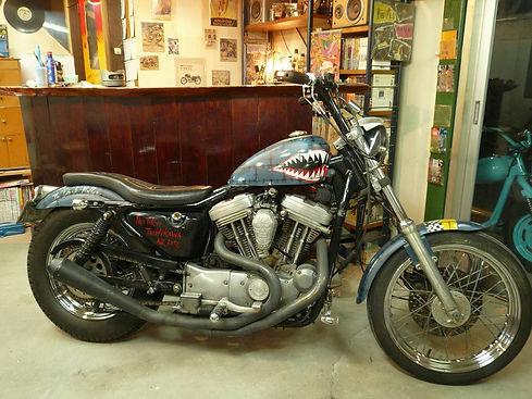Harley Davidson Sportster Bobber ハーレー チョッパー ボバー 4速フレーム スポーツスター すぽすた