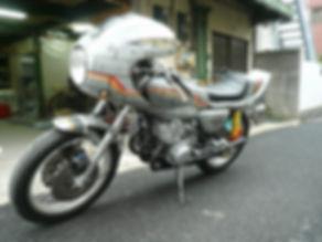 KAWASAKI KH350 MACH CAFE RACER マッハ カフェレーサー ロケット