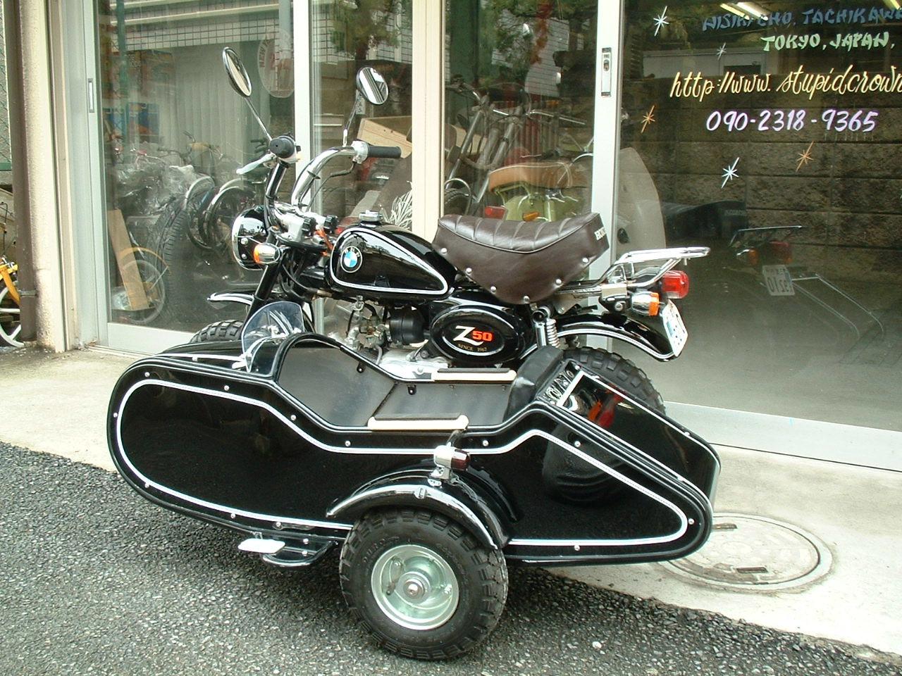 HONDA MONKEY SIDE CAR | STUPID CROWN Custom&Paint Factory