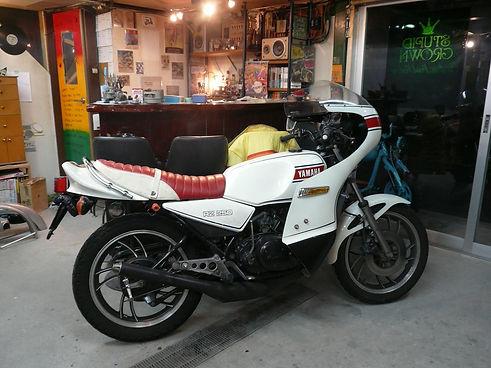 YAMAHA RZ350 CAFE RACER ロケットカウル かふぇれーさー