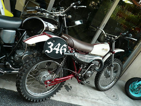 HONDA MT125 ELSINORE VMX Racer エルシノア レーサー モトクロッサー