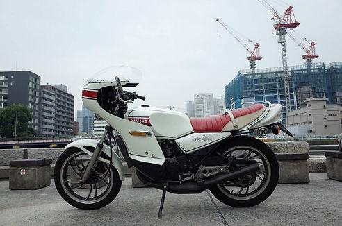 YAMAHA RZ350 CAFE RACER ロケットカウル カフェレーサー