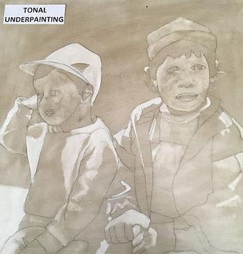 Guatemalan boys underpainting (2).JPG