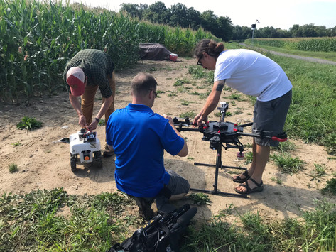Buckler Lab rover featured in local news!