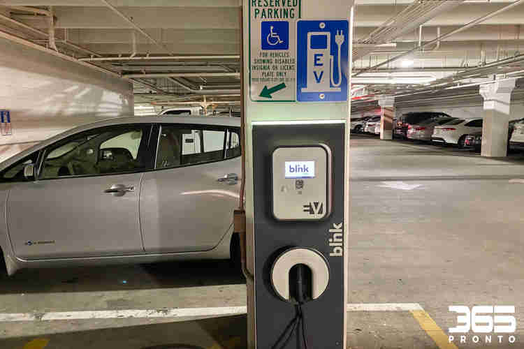 Blink Electric Vehicle (EV) Charger