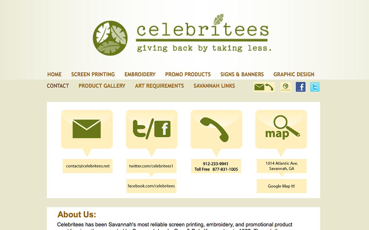 Celebritees Website