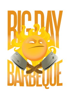 Big Day Barbecue Logo
