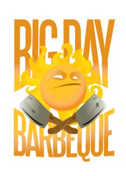 Big Day Barbecue Logo