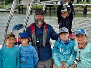 Jody Ducworth, James Island teacher and boat captain extraodinaire