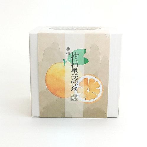 手作柑桔黑蕎茶