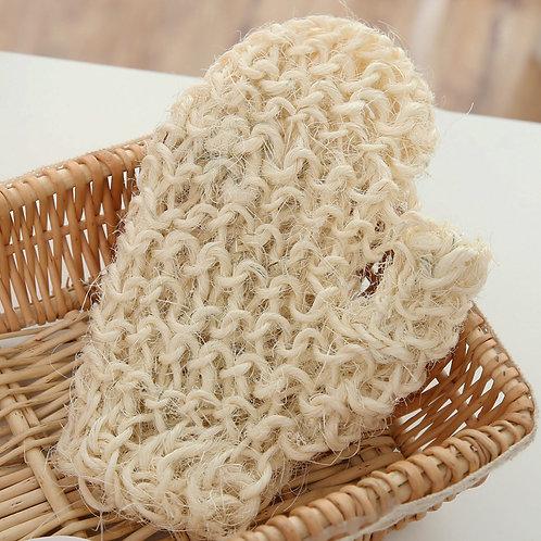 手織沐浴磨砂手套Exfoliating Hemp Flax Ramie Glove
