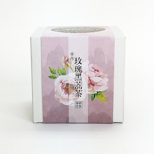 手作玖瑰黑蕎茶