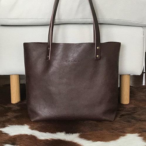 Leather Tote Bag Handmade. Cloud Auto.