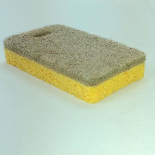 Natural Sponge (2 pieces) Natural Sponge