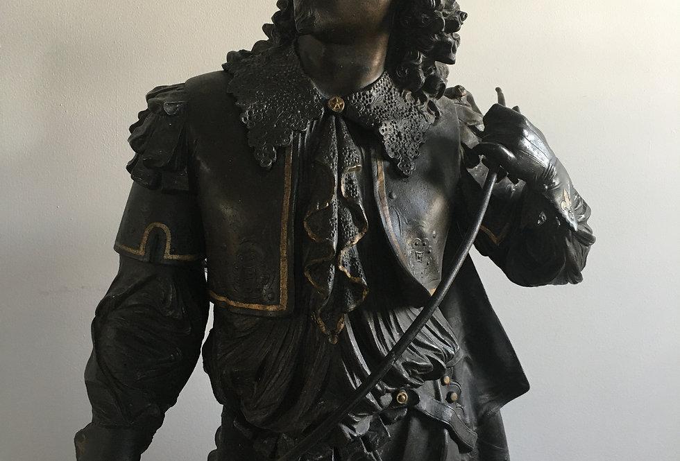 Don Juan bronze figure