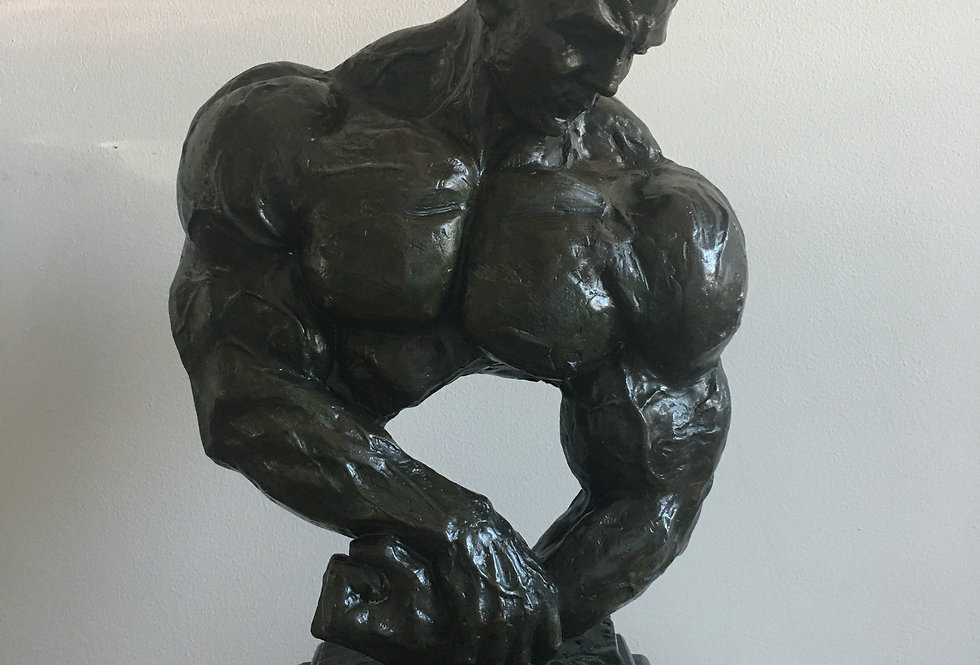 Bronze body builder