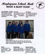 Moylegrove School magazine 2003