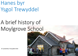 History of Moylgrove School