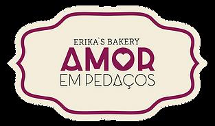 Amor em pedacos Bakery Logo