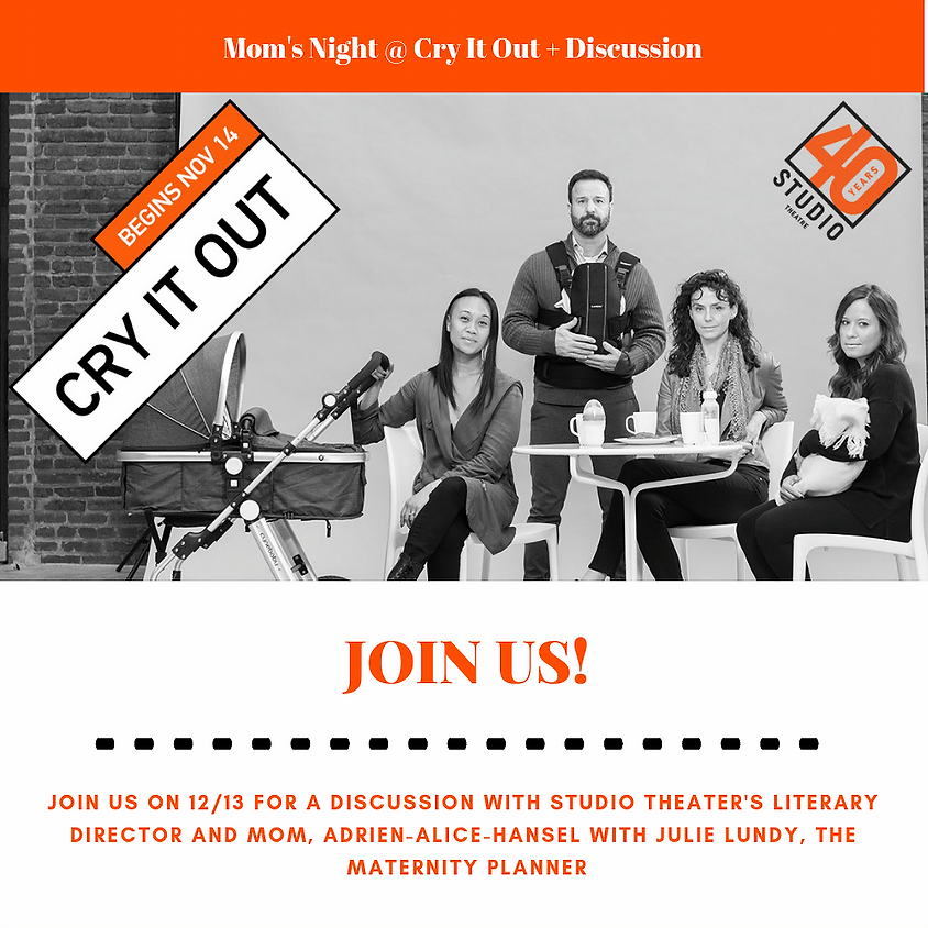 Moms Night @ CRY IT OUT