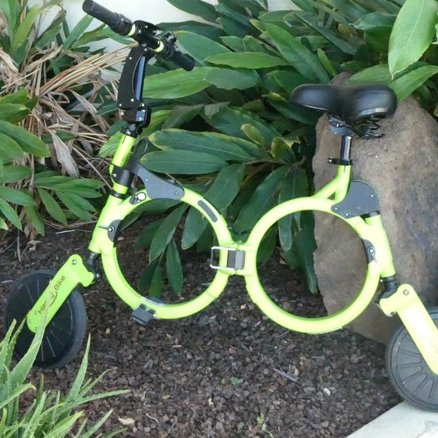 Green Electric Bike