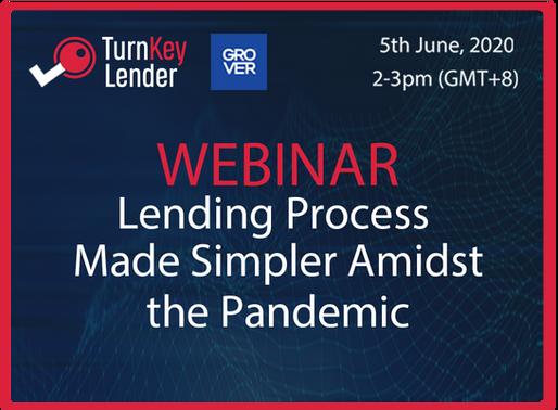 Unified We Lend: Lending Webinar Amidst the Pandemic