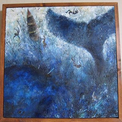 Whale In Deep Ice. Oil.jpg