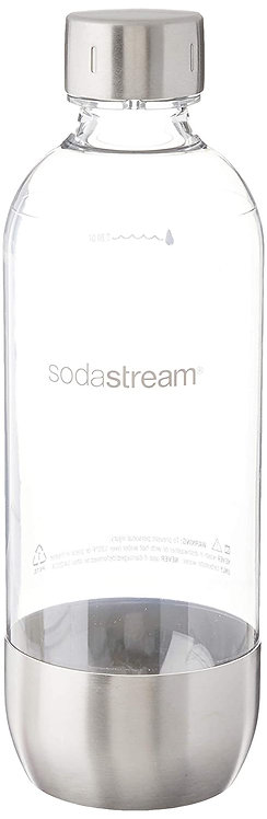 SodaStream Stainless Base 1L Bottle