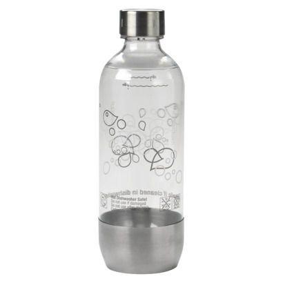 SodaStream Stainless Base 1L Bottle