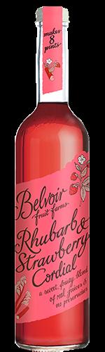 Belvoir Rhubarb & Strawberry 500ml