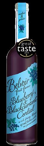 Belvoir Blueberry & Blackcurrant 500ml