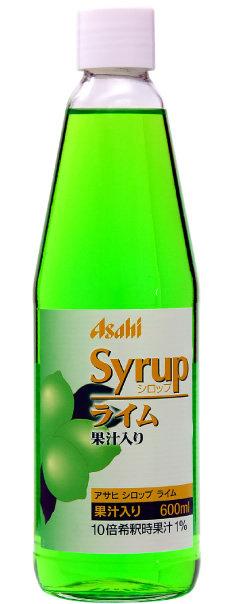 Asahi Lime 朝日 青檸 600ml