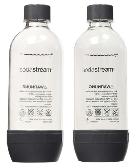 SodaStream 1L Bottle (pack of two)