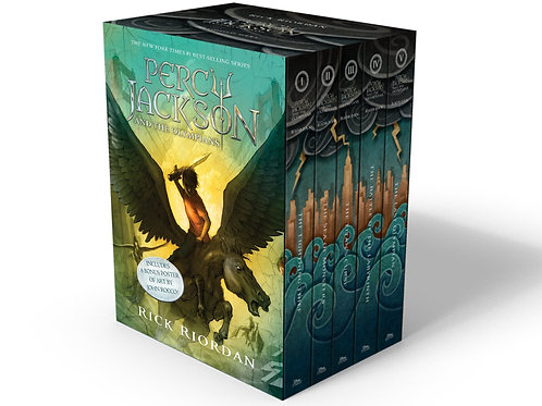 Percy Jackson Pbk 5-Book Boxed Set Paperback