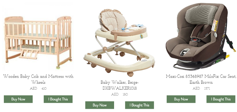 A Baby Registry for a Parents-to-Be Couple in UAE. The GiftStar.