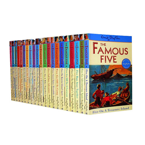 Famous Five Complete 21 Books Collection - Paperback
