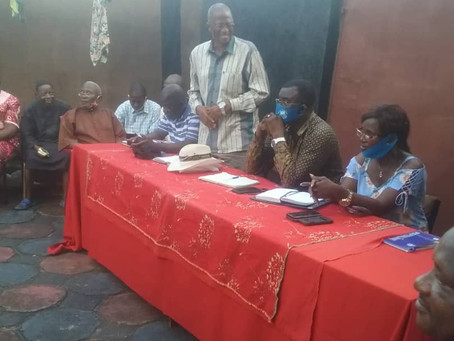 Dr. Richard Konteh (D-Unifier) Embarks on a Routine Tour in the Southern Region