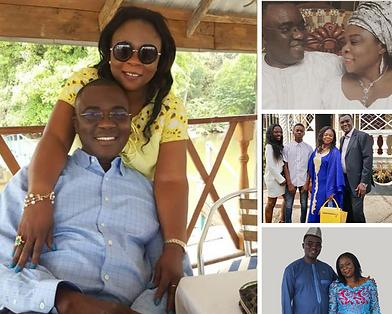 Richard Konteh and Family