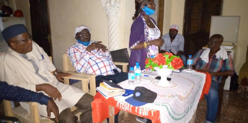 Dr Richard Konteh (D-Unifier) Embarks On