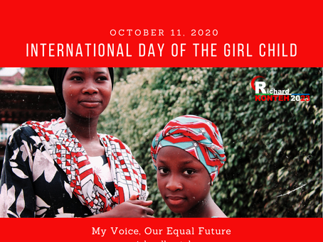 Statement by Dr. Richard Konteh on International Day of the Girl Child