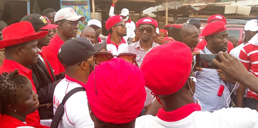Dr. Richard Konteh in Freetown