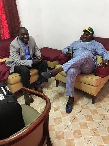 Lawyer Kalokoh and Richard Konteh