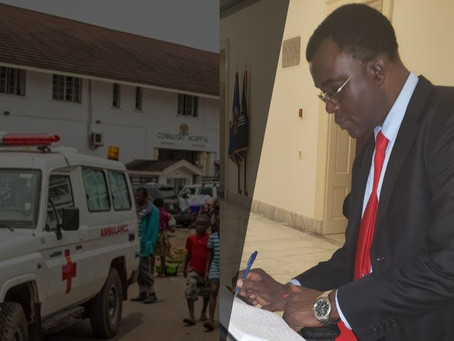 Dr. Richard Konteh Hints at a New Approach to Better Health in Sierra Leone