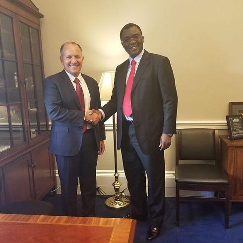 Dr. Richard Konteh former Minister  Trade and Industry, Economic Development