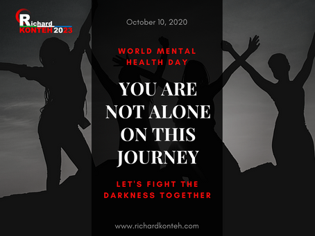Statement by Dr. Richard Konteh on World Mental Health Day