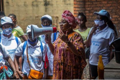 Dr. Richard Konteh Congratulates the Women on International Women's Day