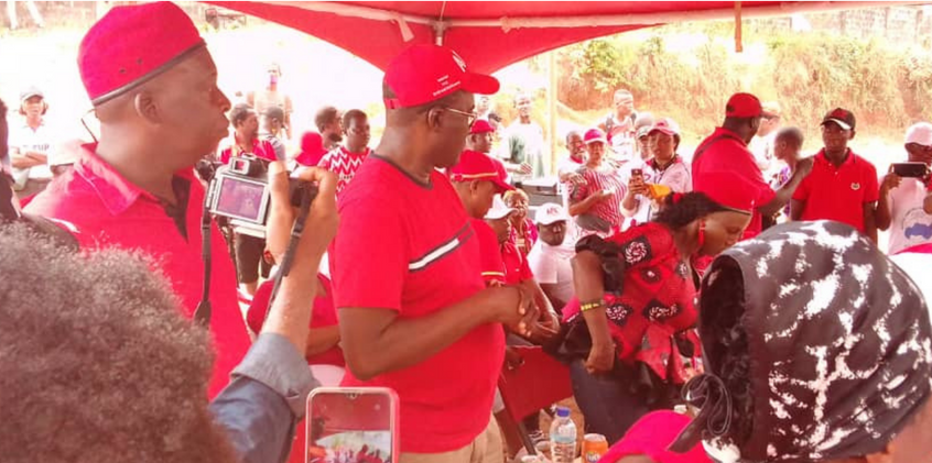 Dr. Richard Konteh Helps Constituency 110